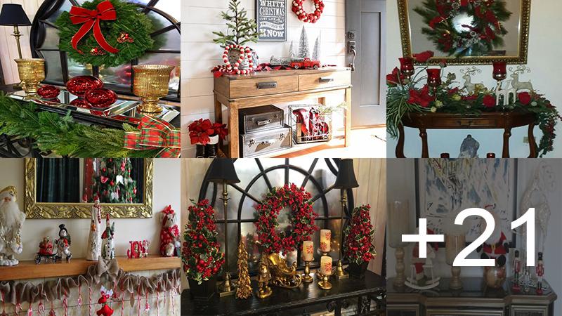 decoraciones navideñas para tus repisas