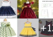 Aprende hacer vestidos para niñas con patrones