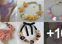 Aprende hacer collares tejidos