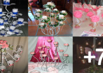 Hacer candelabros con velas para decoración de mesa