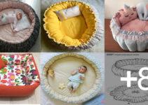 Aprende hacer camitas para bebés con patrones