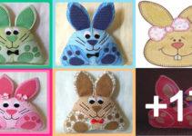Como hacer cojines de conejos con patronesComo hacer cojines de conejos con patrones