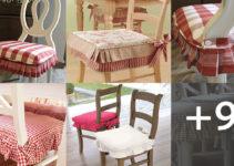 Aprende hacer forros de asientos para sillas