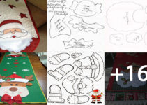 Aprende Hacer Caminos de tela navideños