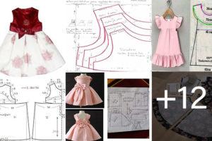 patrones de costura para Bebés y Niñas